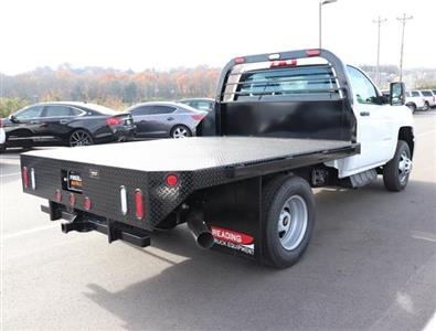 2019 Silverado 3500 Regular Cab DRW 4x4,  Reading Redi-Dek Platform Body #KF162683 - photo 4