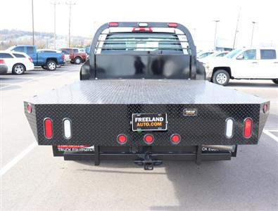 2019 Silverado 3500 Regular Cab DRW 4x4,  Reading Redi-Dek Platform Body #KF162683 - photo 6