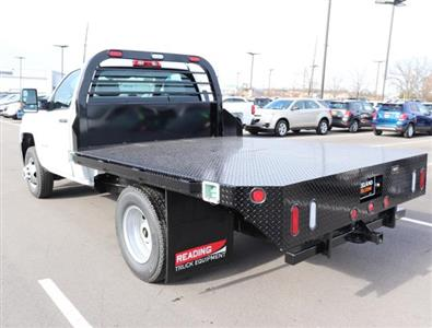 2019 Silverado 3500 Regular Cab DRW 4x4,  Reading Redi-Dek Platform Body #KF162683 - photo 2