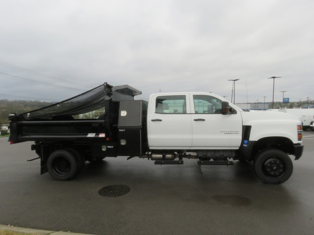 2019 Silverado 4500 Crew Cab DRW 4x4, Crysteel E-Tipper Dump Body #KH607050 - photo 4