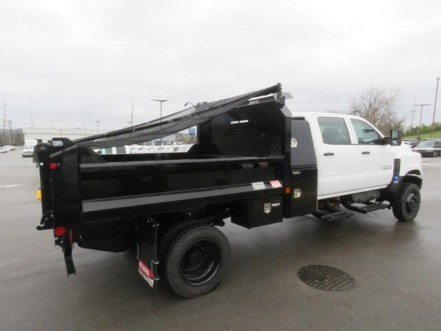 2019 Silverado 4500 Crew Cab DRW 4x4, Crysteel E-Tipper Dump Body #KH607050 - photo 5