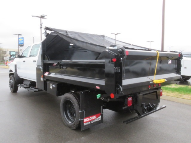 2019 Silverado 4500 Crew Cab DRW 4x4, Crysteel Dump Body #KH607050 - photo 1