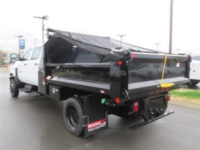 2019 Silverado 4500 Crew Cab DRW 4x4, Crysteel E-Tipper Dump Body #KH607050 - photo 2