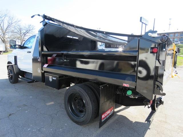 2019 Chevrolet Silverado 5500 Regular Cab DRW 4x2, Crysteel Dump Body #KH607051 - photo 1