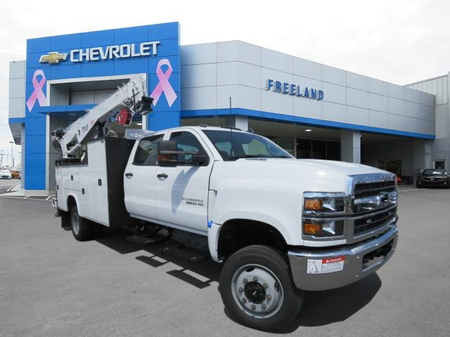 2019 Silverado 5500 Crew Cab DRW 4x4,  Knapheide Mechanics Body #KH827513 - photo 1