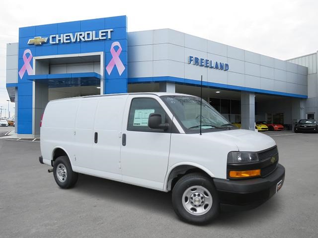 2020 Chevrolet Express 2500 4x2, Adrian Steel Upfitted Cargo Van #L1187768 - photo 1