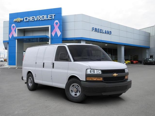 2020 Chevrolet Express 2500 4x2, Weather Guard Empty Cargo Van #L1276024 - photo 1