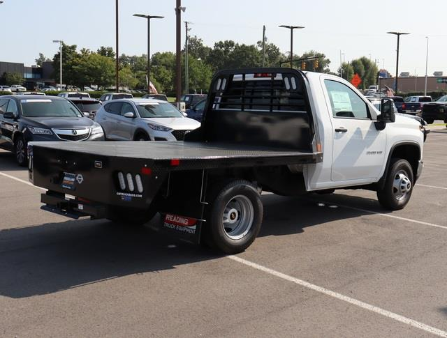 2020 Chevrolet Silverado 3500 Regular Cab DRW 4x4, CM Truck Beds Platform Body #LF279724 - photo 1