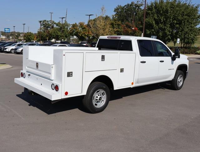 2020 Chevrolet Silverado 2500 Crew Cab 4x2, Warner Service Body #LF303434 - photo 1
