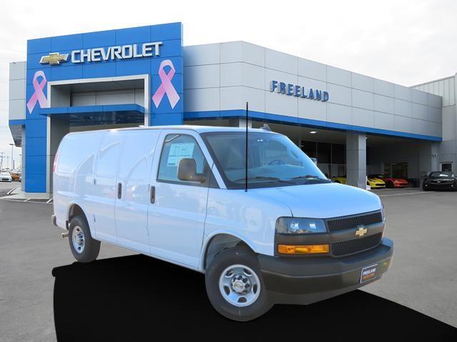 2021 Chevrolet Express 2500 4x2, Weather Guard Upfitted Cargo Van #M1177446 - photo 1