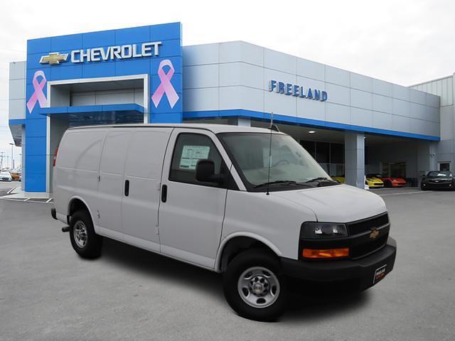 2021 Chevrolet Express 2500 4x2, Weather Guard Upfitted Cargo Van #M1177477 - photo 1