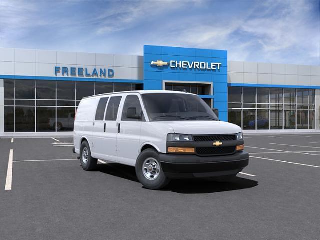 2021 Chevrolet Express 2500 4x2, Adrian Steel Empty Cargo Van #M1263406 - photo 1