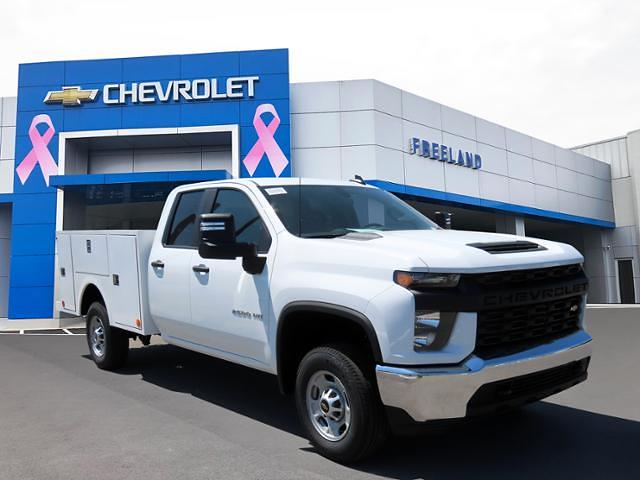 2021 Chevrolet Silverado 2500 Double Cab 4x2, Warner Service Body #MF172676 - photo 1