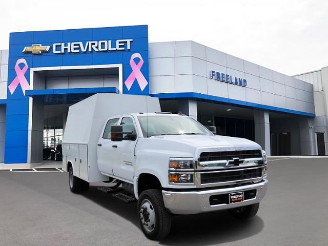 2021 Chevrolet Silverado 5500 Crew Cab DRW 4x4, Reading Service Body #MH589263 - photo 1