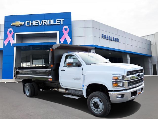 2021 Chevrolet Silverado 6500 Regular Cab DRW 4x4, Crysteel Dump Body #MH677494 - photo 1