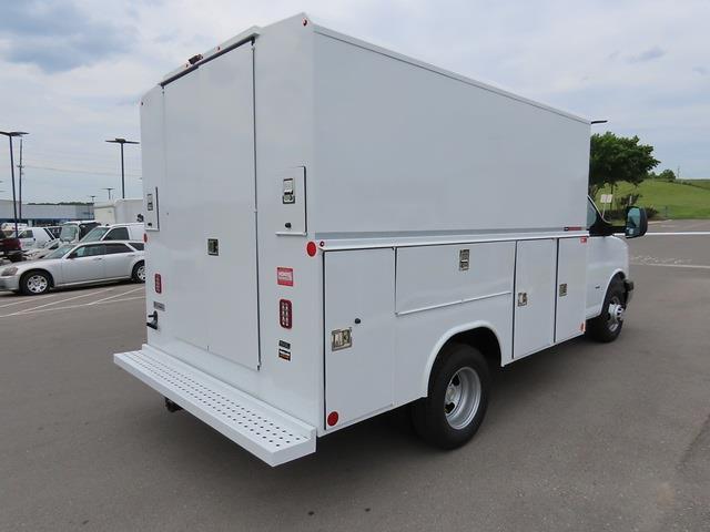 2021 Chevrolet Express 3500 4x2, Reading Service Utility Van #MN010196 - photo 1