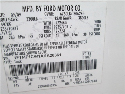 2010 F-150 Regular Cab Pickup #10499T - photo 10