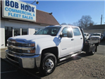 2015 Silverado 3500 Crew Cab DRW 4x4, Hauler Body #10529TA - photo 1