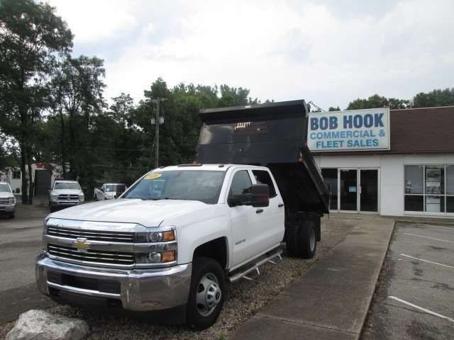 2016 Silverado 3500 Crew Cab DRW 4x2,  Reading Dump Body #10686T - photo 25