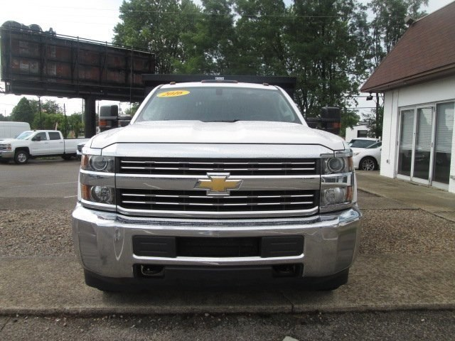 2016 Silverado 3500 Crew Cab DRW 4x2,  Reading Dump Body #10686T - photo 4
