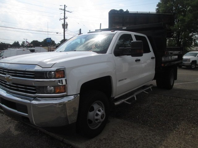 2016 Silverado 3500 Crew Cab DRW 4x2,  Reading Dump Body #10686T - photo 5