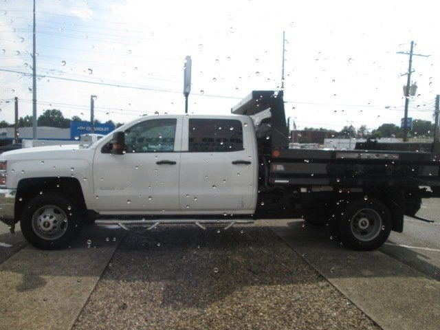 2016 Silverado 3500 Crew Cab DRW 4x2,  Reading Dump Body #10686T - photo 6