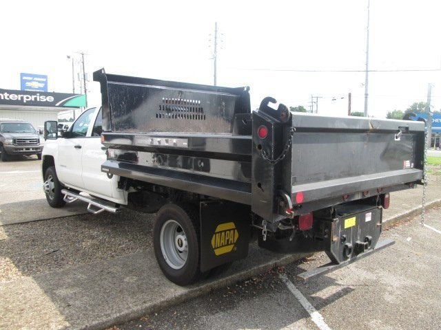 2016 Silverado 3500 Crew Cab DRW 4x2,  Reading Dump Body #10686T - photo 3