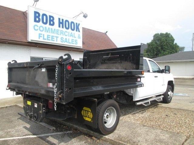 2016 Silverado 3500 Crew Cab DRW 4x2,  Reading Dump Body #10686T - photo 2