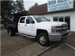 2016 Silverado 3500 Crew Cab DRW 4x2,  Reading Dump Body #10686T - photo 1