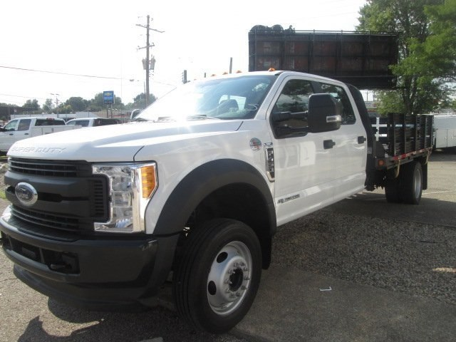 2017 F-450 Crew Cab DRW 4x4,  Stake Bed #10715T - photo 5