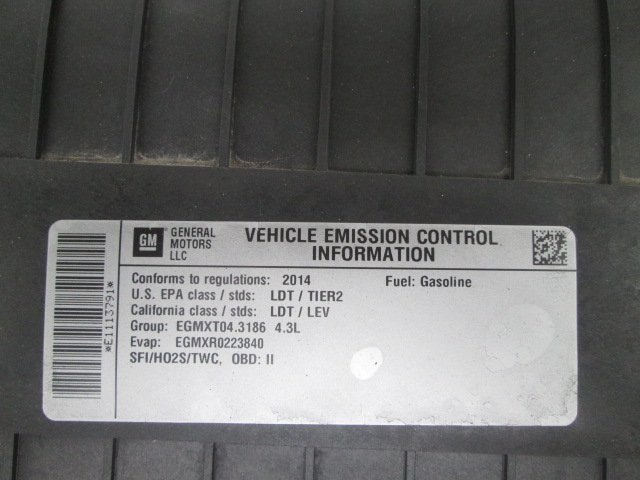 2014 Express 1500 4x2,  Empty Cargo Van #10727T - photo 19