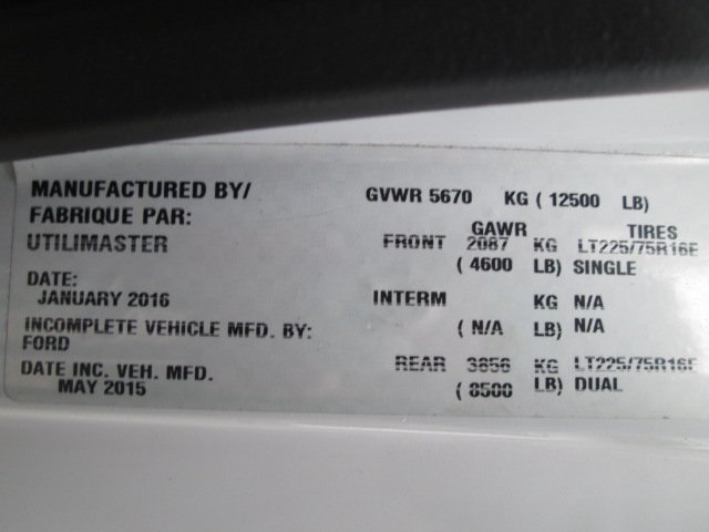 2016 E-350 4x2,  Cutaway Van #10735T - photo 18