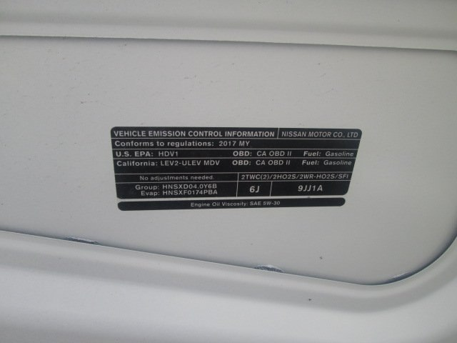 2017 NV2500 Standard Roof,  Empty Cargo Van #10739T - photo 19