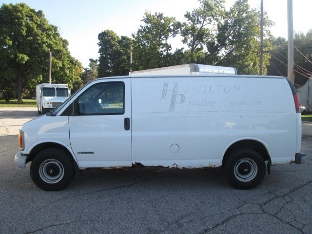 2001 Express 3500 4x2,  Empty Cargo Van #10740TA - photo 12