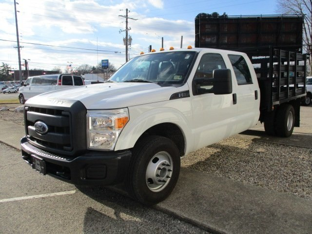 2014 F-350 Crew Cab DRW 4x2,  Stake Bed #10793T - photo 4