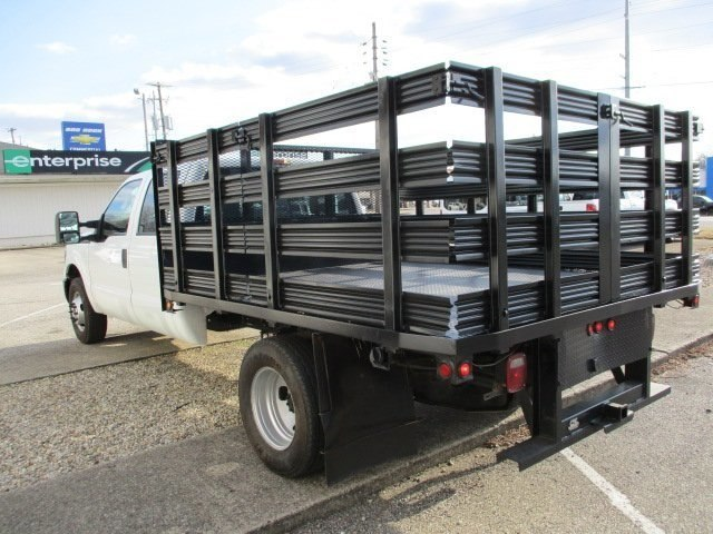 2014 F-350 Crew Cab DRW 4x2,  Stake Bed #10793T - photo 5