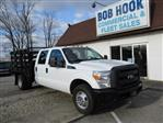 2014 F-350 Crew Cab DRW 4x2,  Stake Bed #10793T - photo 1