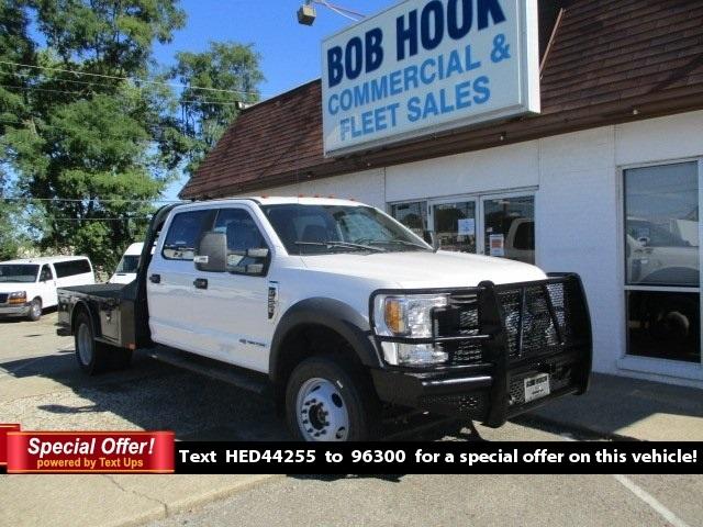 2017 Ford F-550 Crew Cab DRW 4x4, CM Truck Beds Platform Body #10998T - photo 1