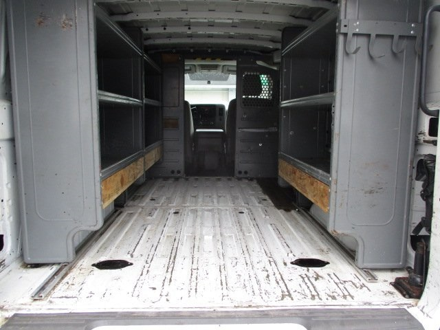 2013 Nissan NV3500 Standard Roof 4x2, Upfitted Cargo Van #11090T - photo 1