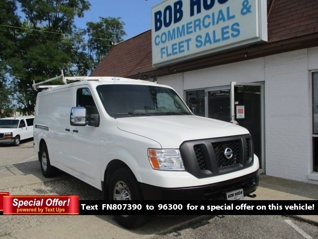 2015 Nissan NV3500 Standard Roof 4x2, Upfitted Cargo Van #11242T - photo 1