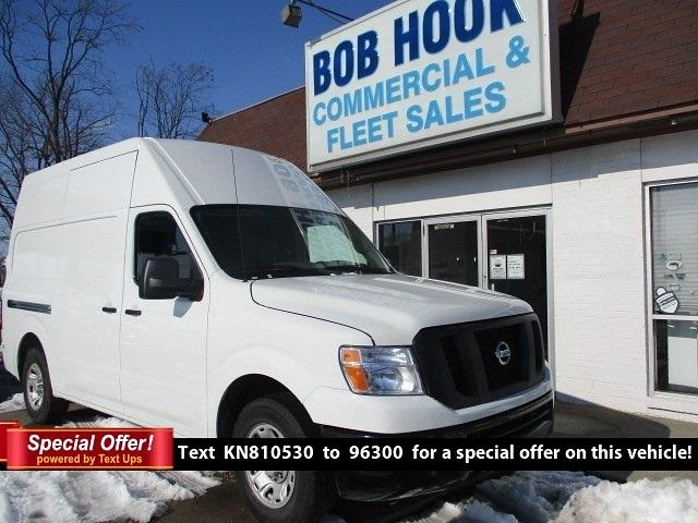 2019 Nissan NV2500 High Roof 4x2, Empty Cargo Van #11361T - photo 1