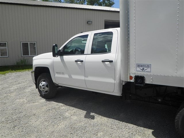 2015 Silverado 3500 Double Cab 4x4, Hercules Dry Freight #151311 - photo 10