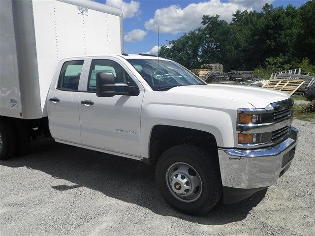 2015 Silverado 3500 Double Cab 4x4, Hercules Dry Freight #151311 - photo 4