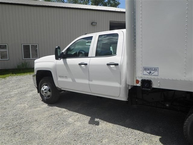 2015 Silverado 3500 Double Cab 4x4, Hercules Dry Freight #151311 - photo 9