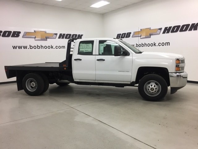2015 Silverado 3500 Double Cab 4x4, CM Truck Beds Platform Body #151311 - photo 4