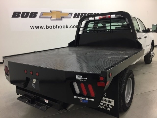 2015 Silverado 3500 Double Cab 4x4, CM Truck Beds Platform Body #151311 - photo 2