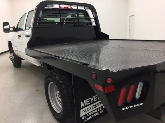 2015 Silverado 3500 Double Cab 4x4, CM Truck Beds Platform Body #151311 - photo 6