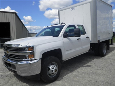 2015 Silverado 3500 Double Cab 4x4, Hercules Dry Freight #151311 - photo 23