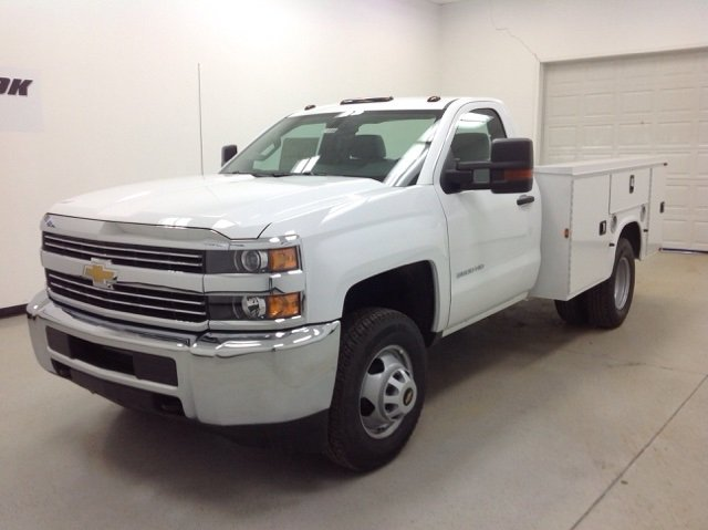 2016 Silverado 3500 Regular Cab DRW, Knapheide Service Body #161099 - photo 6