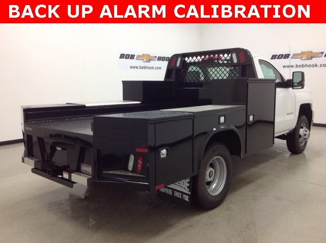 2016 Silverado 3500 Regular Cab DRW, Knapheide Platform Body #161170 - photo 2